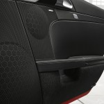 2011 Guards Red Porsche Boxster S wallpaper Interioor doors Audio