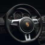 2011 Porsche Boxster S Black Edition Interior Steering wheel