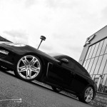 2011 Black Porsche Panamera RS600 Project Kahn Side angle view