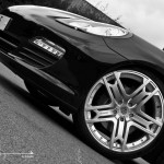 2011 Black Porsche Panamera RS600 Project Kahn Front angle view