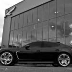 2011 Black Porsche Panamera RS600 Project Kahn Side view