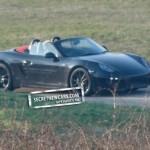 2012 Porsche Boxster (981) spy shots Front angle view
