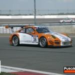 Porsche 911 GT3 R Hybrid 2_0 test Side angle view
