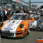 Porsche 911 GT3 R Hybrid 2_0 test Front angle view