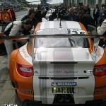 Porsche 911 GT3 R Hybrid 2_0 test Rear view