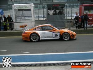 Porsche 911 GT3 R Hybrid 2_0 test Side view