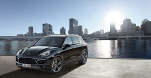 2011 Porsche Cayenne Turbo 2011 Front angle view