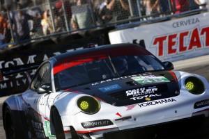 Porsche GT3 RSR at 2011 American LeMans of Long Beach