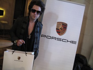 Pop Singer Ryan Cabrera and Porsche
