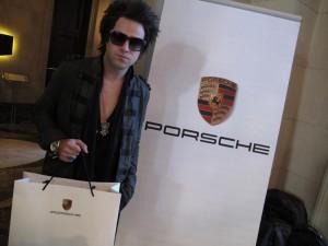 Pop Singer Ryan Cabrera and Porsche
