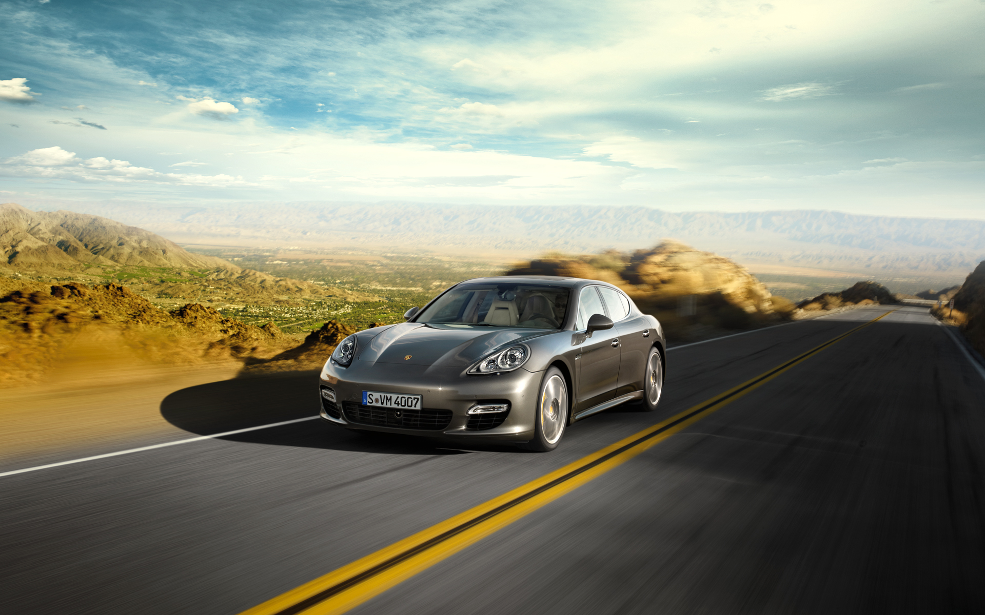 Porsche Panamera Turbo S wallpaper - 461896