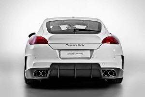 V-PT Edition Porsche Panamera by Vorsteiner Tuning Rear view