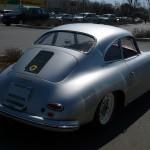 Vintage Porsche 356 A 1600 Rear angle view