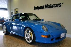 Jerry Seinfeld's 1997 Porsche 911 Turbo S Front angle view