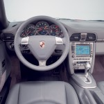 2007 Red Porsche 911 Targa 4 Wallpaper Interior