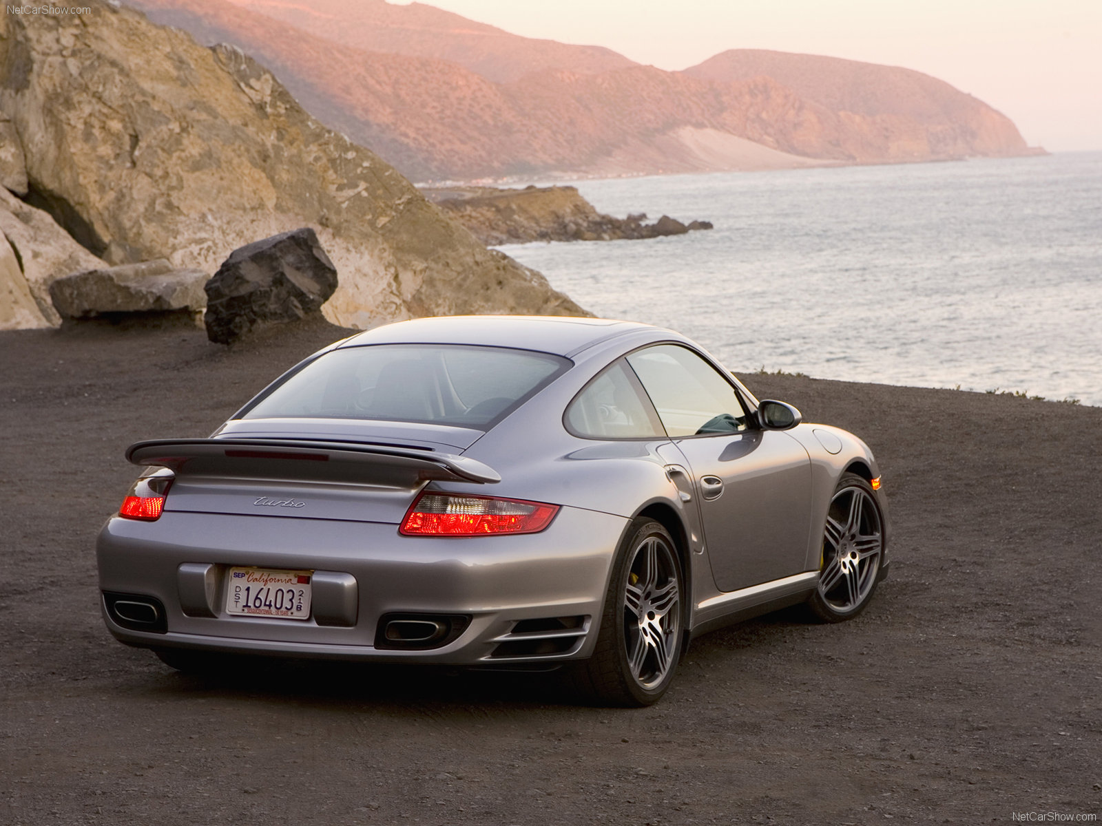 2007 silver porsche 911 turbo wallpapers. Black Bedroom Furniture Sets. Home Design Ideas
