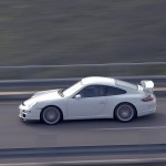 2007 White Porsche 911 GT3 Wallpaper Side view