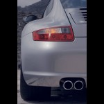 2008 Porsche 911 Carrera Wallpaper Rear corner view