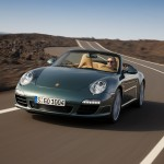 2009 Porsche 911 Carrera Wallpaper Front angle view