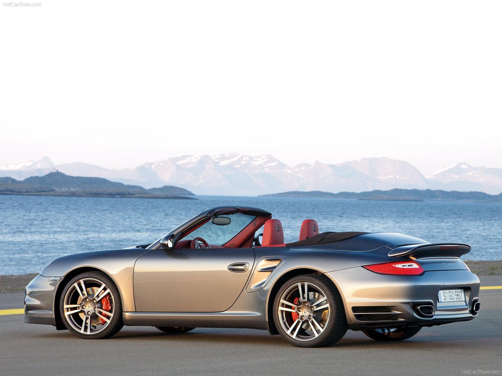 2010 grey porsche 911 turbo cabriolet wallpapers. Black Bedroom Furniture Sets. Home Design Ideas