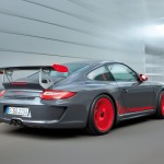 2010 Porsche 911 GT3 RS Wallpaper Rear angle side view