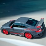 2010 Porsche 911 GT3 RS Wallpaper Side angle top view
