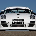 2010 White Porsche 911 GT3 R Wallpaper Front view