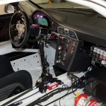 2010 White Porsche 911 GT3 R Wallpaper Interior