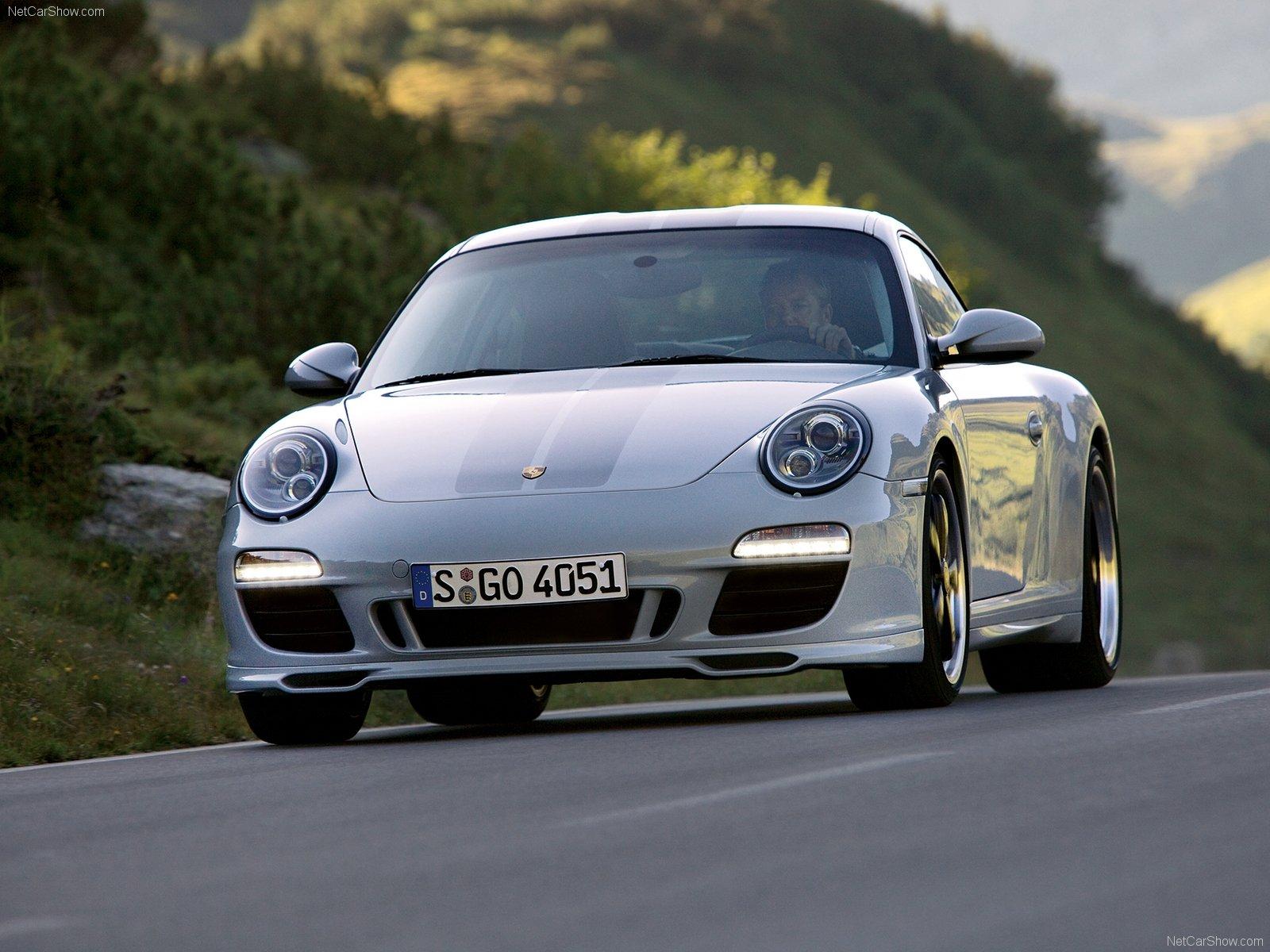 Porsche 911 Sport Classic Wallpaper: 2010 White Porsche 911 Sport Classic Wallpapers