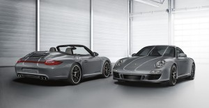 2011 Grey Porsche 911 Carrera 4 GTS Coupe and Cabriolet