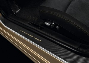 Limited Porsche 911 Turbo S China 10 Year Anniversary Edition Interior Door sill