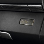 Limited Porsche 911 Turbo S China 10 Year Anniversary Edition Interior Badge