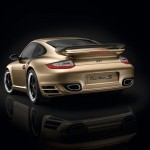 Limited Porsche 911 Turbo S China 10 Year Anniversary Edition Rear angle view