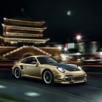 Limited Porsche 911 Turbo S China 10 Year Anniversary Edition Front angle view