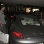 Ashley Greene and her Porsche Cayman S