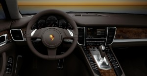 2011 White Porsche Panamera Diesel 3000x1560 wallpaper Interior
