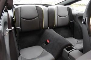 Limited edition: Porsche 911 Turbo S Edition 918 Spyder Interior Rear seats