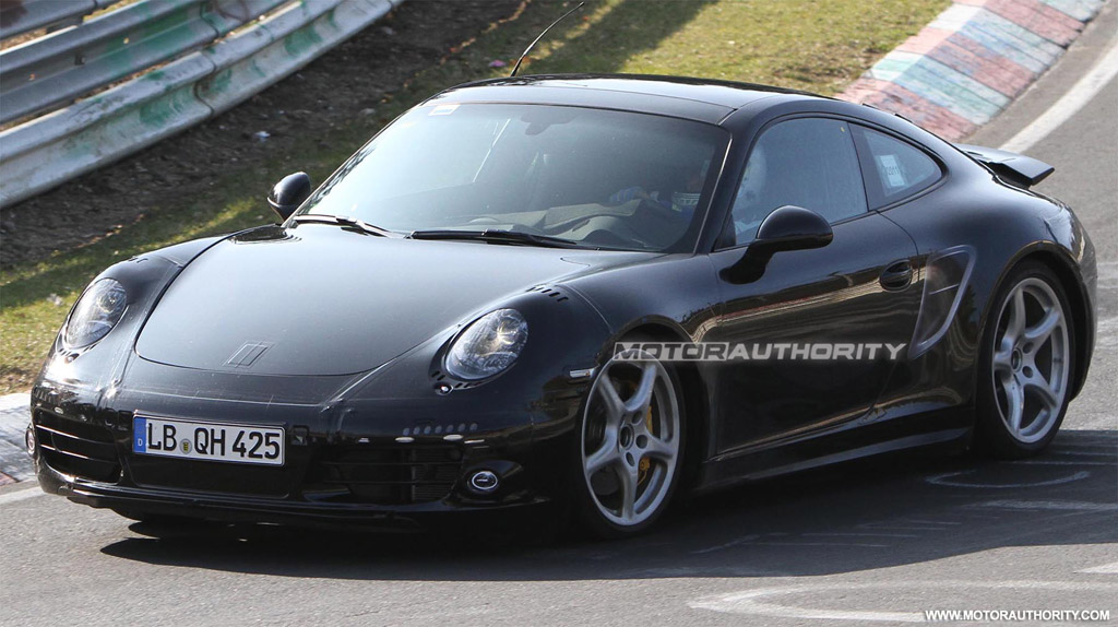 2012 new porsche 911 porsche 991 spy shots