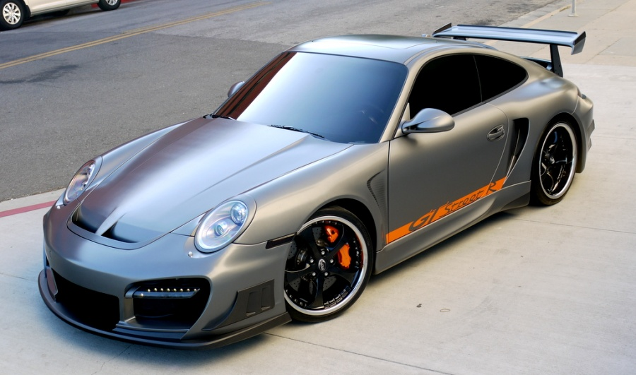 Celebrity Car Andrew Bynum S Porsche 911 Techart Gtstreet R