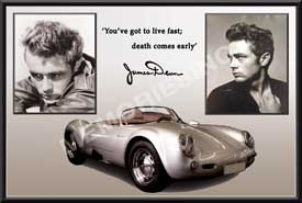Tragic Irony James Dean Driving Safety Video