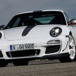 Porsche review 2011 Porsche 91 GT3 RS 4.0 First drive Front angle view