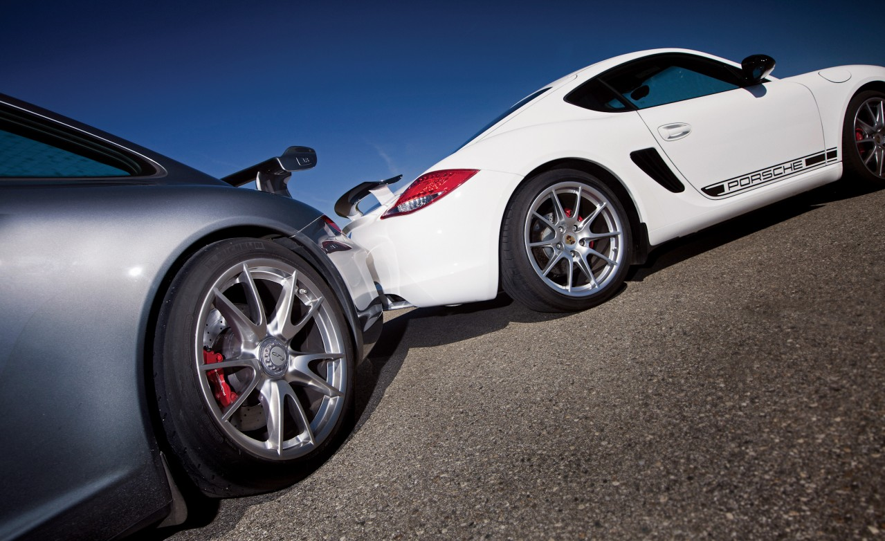 Porsche Cayman R, the