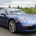 2012 new Porsche 911 (Porsche 991) Spy shot Front angle side view