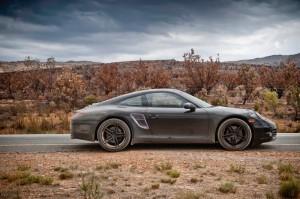 New Porsche 911 (Porsche 991) first drive Side view