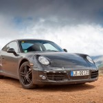 New Porsche 911 (Porsche 991) first drive Front angle view