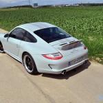 Porsche 911 Sport Classic 2011 Rear angle view