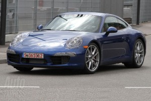new Porsche 911 (2012 Porsche 991) Front angle side view