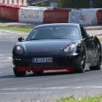 New Porsche Cayman 2012 Spy Shots Front view