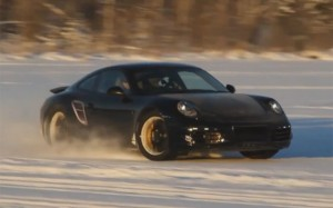 2012 New Porsche-911 (Porsche991) in winter
