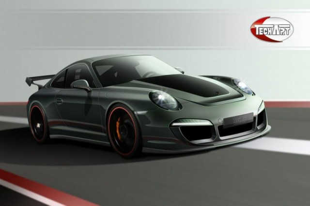 Porche Tuning: New Porsche 911 (Porsche 911) by TechArt